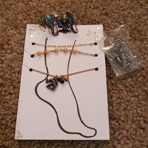 Set of elephant jewellery